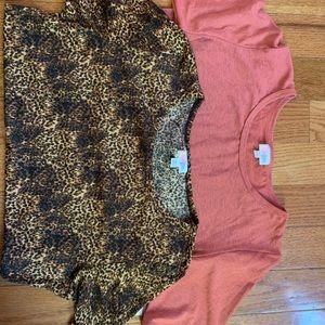 TWO Gigi shirts